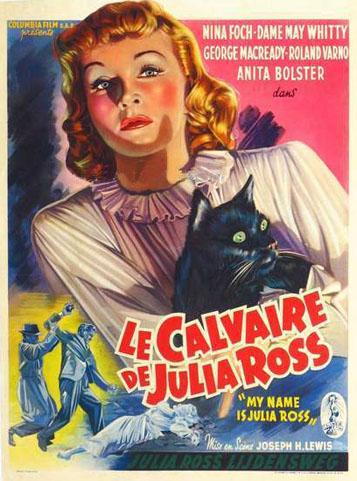Le calvaire de Julia Ross (My Name is Julia Ross) – Joseph H. Lewis – 1945