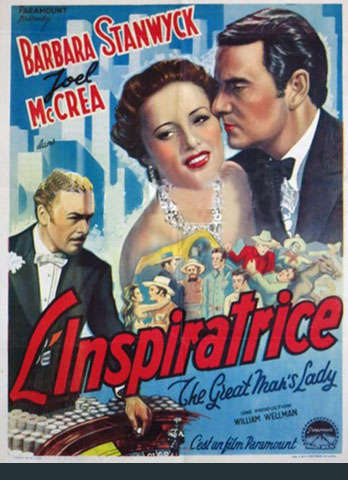 L'inspiratrice (The Great Man's Lady) – William A. Wellman -1942