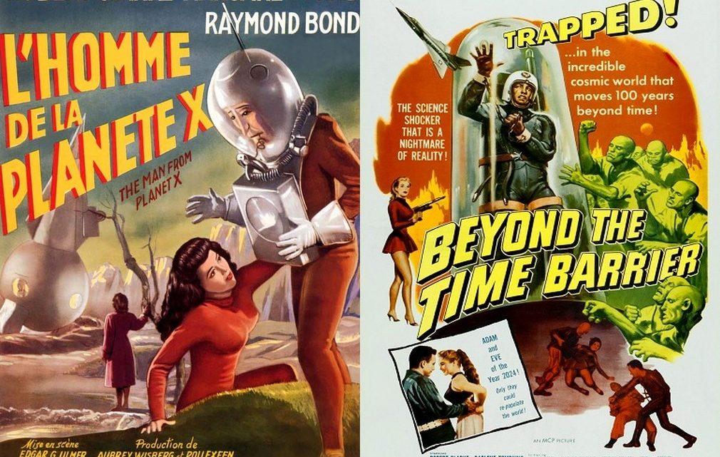 L'homme de la planète X (1951) + Le voyageur de l'espace (1960) -Edgar G. Ulmer