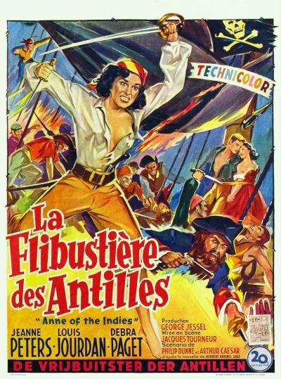 La flibustière des Antilles (Anne of the Indies) – Jacques Tourneur – 1951