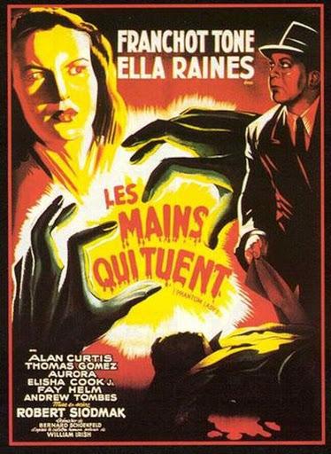Les mains qui tuent (Phantom Lady) – Robert Siodmak – 1944
